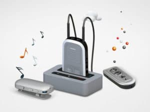 hearing aid accessories that connect to television